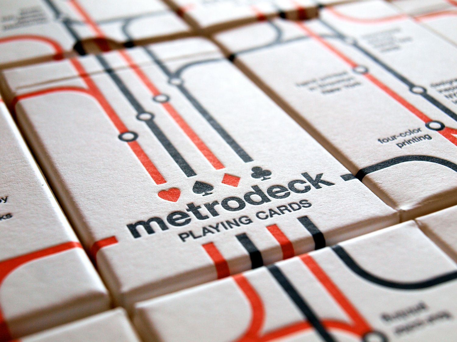 Metrodeck playing cards deck of cards cards playing cards