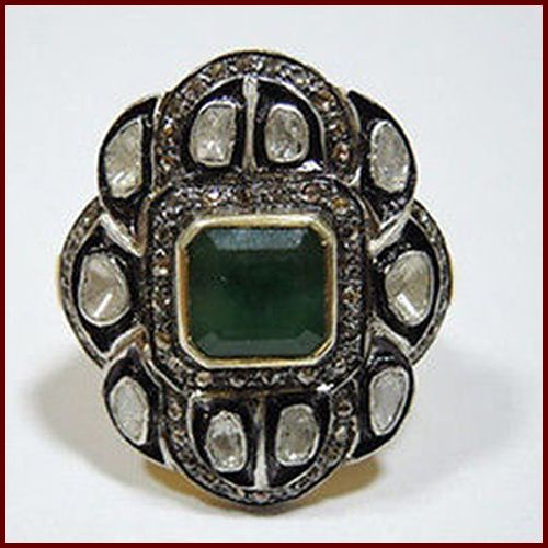 #Emeraldring #Diamondring #Victorianring #Vintagering #Silverring #Estatejewellery #Artdecojewellery