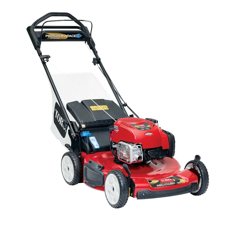 Toro Personal Pace 22 In W 163 Cc Self Propelled Mulching Capability Lawn Mower Best Lawn Mower Push Lawn Mower Gas Lawn Mower