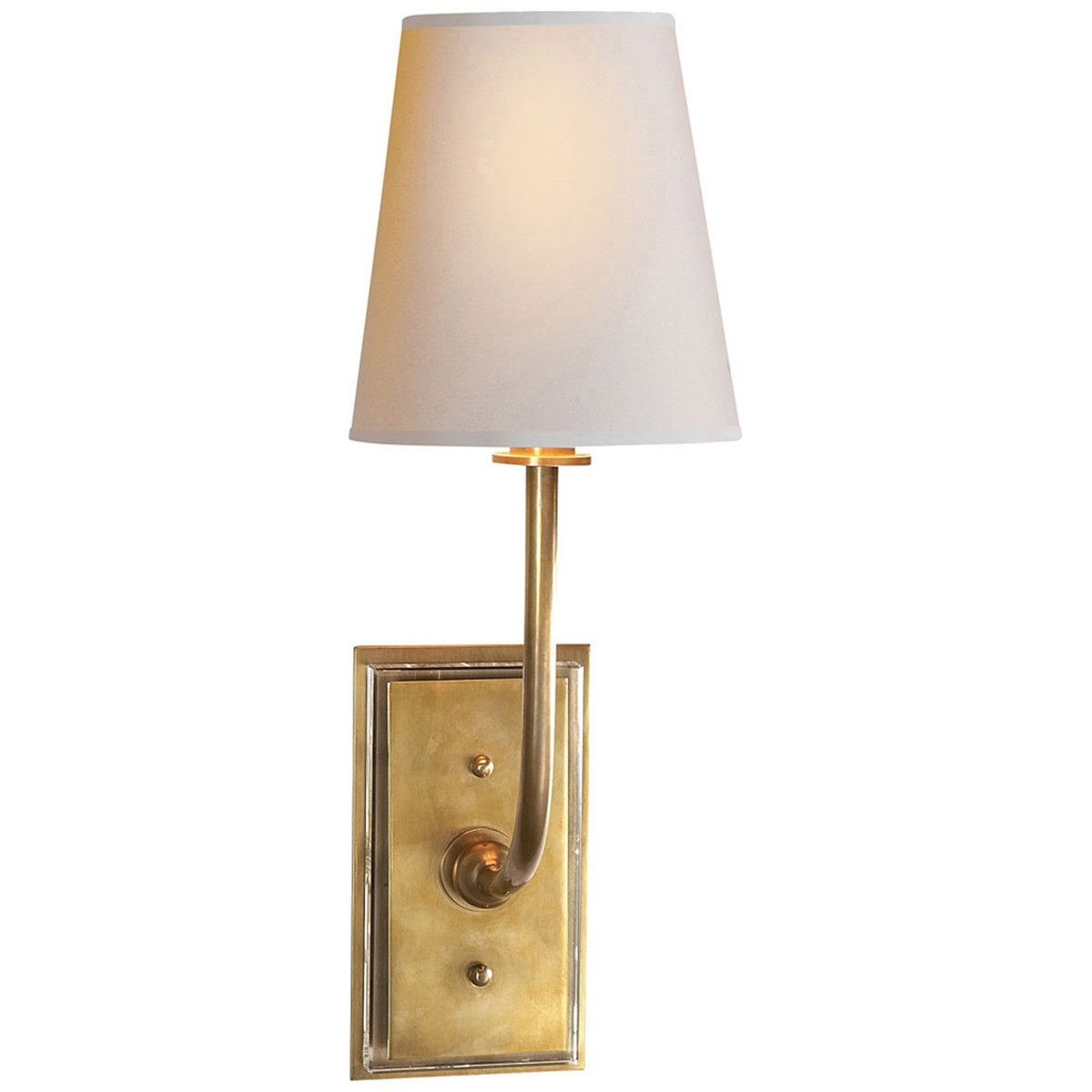 This 1 light Decorative Wall Light from the Thomas OBrien Hulton collection by Visual Comfort will enhance your home with a perfect mix of form and function. This item qualifies for free shipping! Che