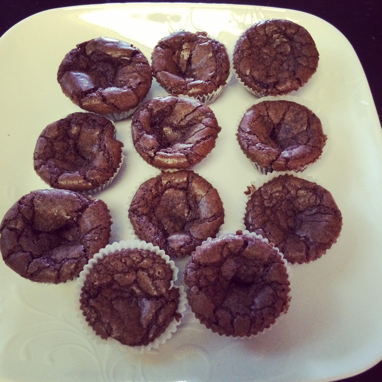 3 ingredient *Nutella* Brownies