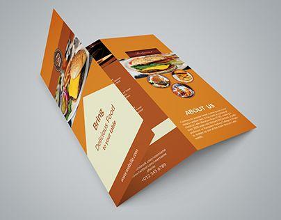 Check out new work on my @Behance portfolio  - restarunt brochure