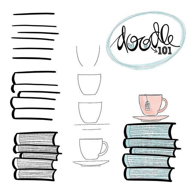 Doodle 101 / click on images for pdf #augustbulletjournal