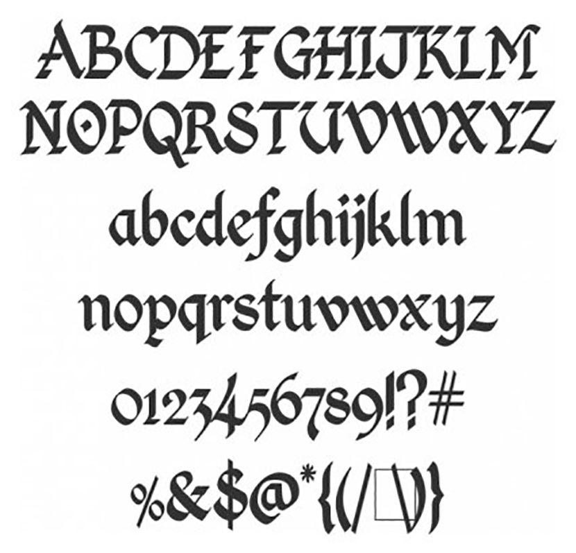 resultado de imagen para fuentes letras antiguas write