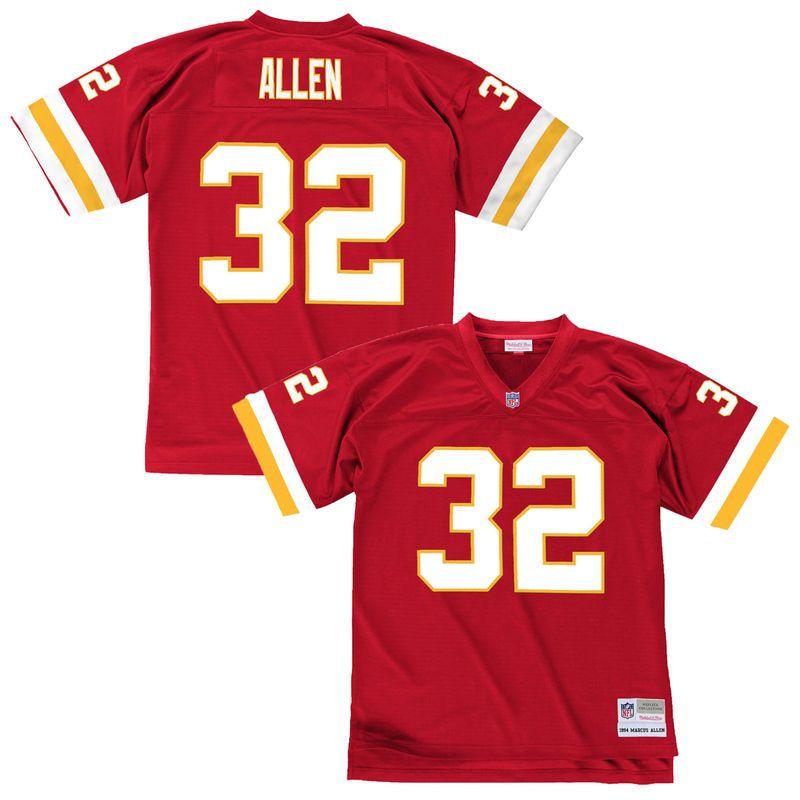 online retailer 88f8d 7c8a2 Marcus Allen Kansas City Chiefs Mitchell & Ness Replica ...