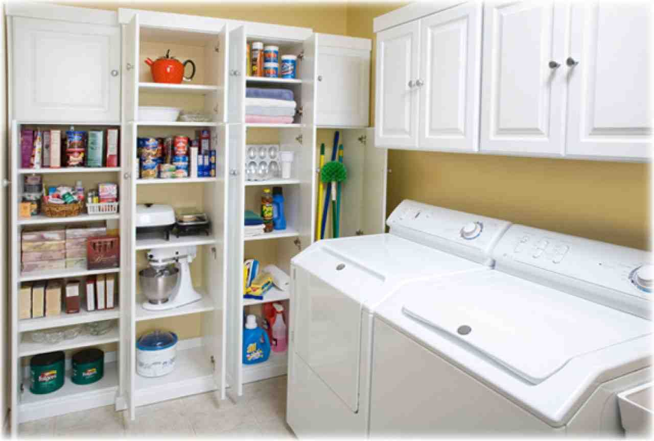pantry shelves lowes pantry laundry room pantry room on lowe s laundry room storage cabinets id=14452