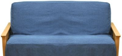 Canvas Futon Or Chair Covers Blue Jean Denim Cover