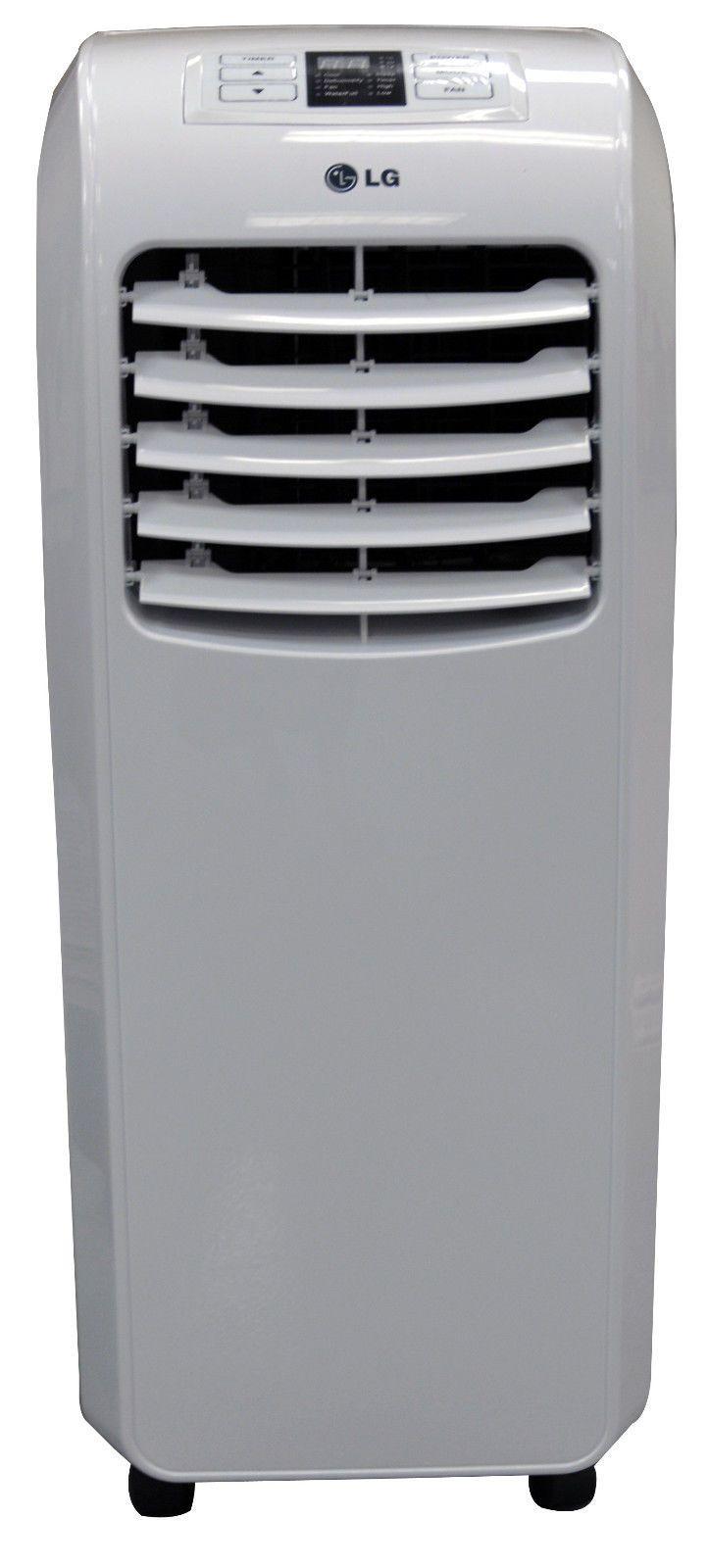 Lg Lp0814wnr 8 000 Btu 110v Portable A C Remote Window Vent Kit Included Portable Air Conditioner Window Portable Air Conditioner Window Air Conditioner