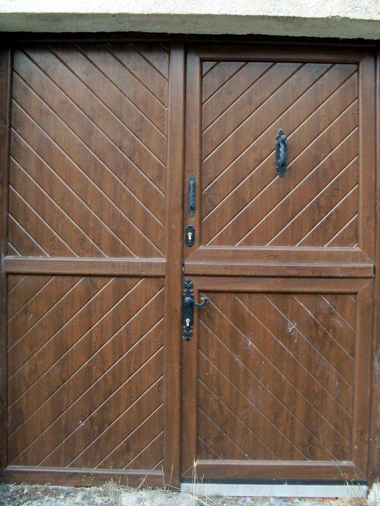 Antiga R Stica Postigo 2 Aluminio Foliado Accesorios Forja  ~ Puertas De Entrada De Aluminio Rusticas
