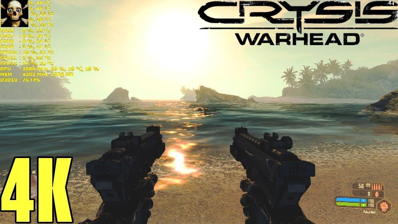 Crysis Warhead 4K UltraHD Gtx 1070 TI Fps Performance 8700K