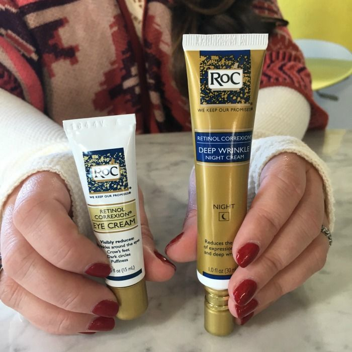 We shared two of our favorite retinol based products today!