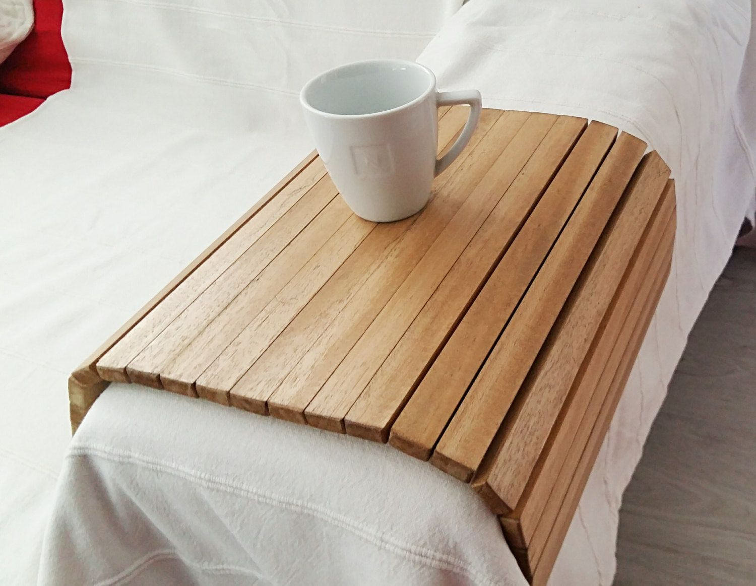 Sofa Tray Wooden Tray Flexible Chair Tray Wooden TV By Tossart