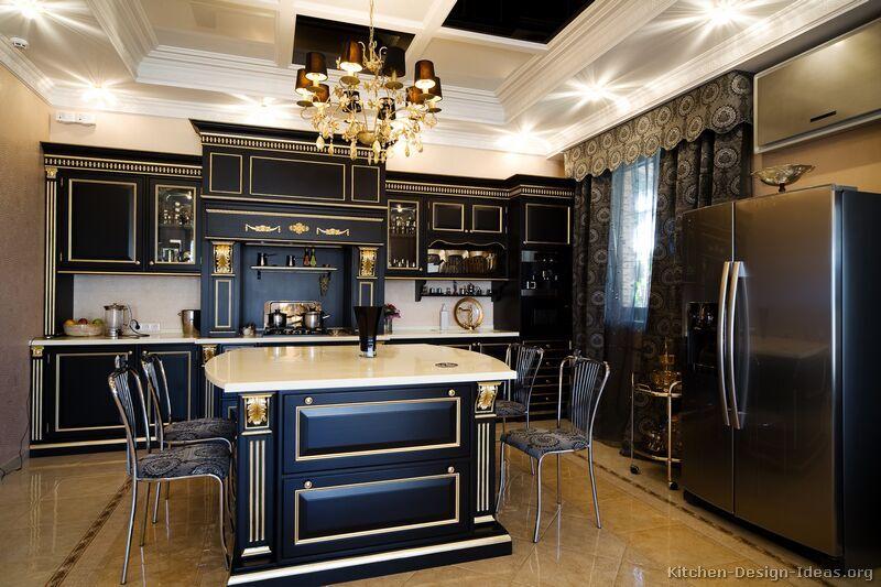 Küche Designs Mit Dunklen Schränken Sobald Sie in der Küche, würden ...