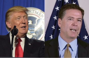 Right After Comey Released Statement, Trump Fired Back