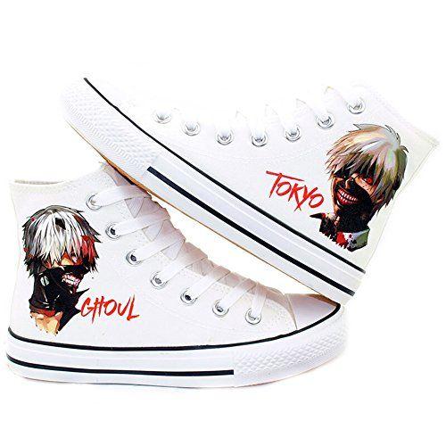 94edd199fe5d9 Tokyo Ghoul Anime Kaneki Ken Cosplay Shoes Canvas Shoes Sneakers ...