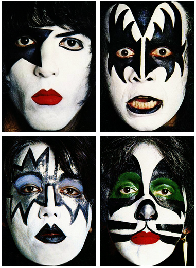 Kizz (make-up)...I was Paul Stanley twice so far ....lol...once when I was a kid…