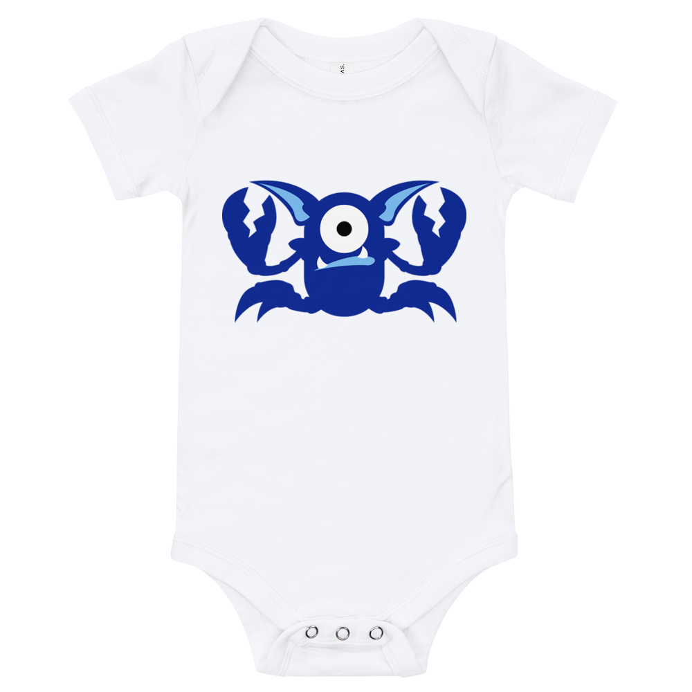 Baby//Toddler Boy Girl I/'m a Little Crab 12 Month Creeper One Piece 100/% Cotton