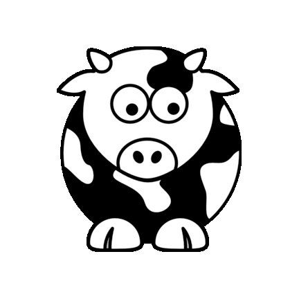Baby Cow - Home/Laptop/Computer/Phone/Car Bumper Sticker Decal