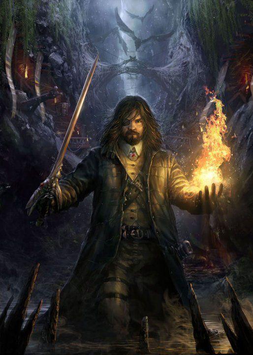 Male Fantasy Explorer Art