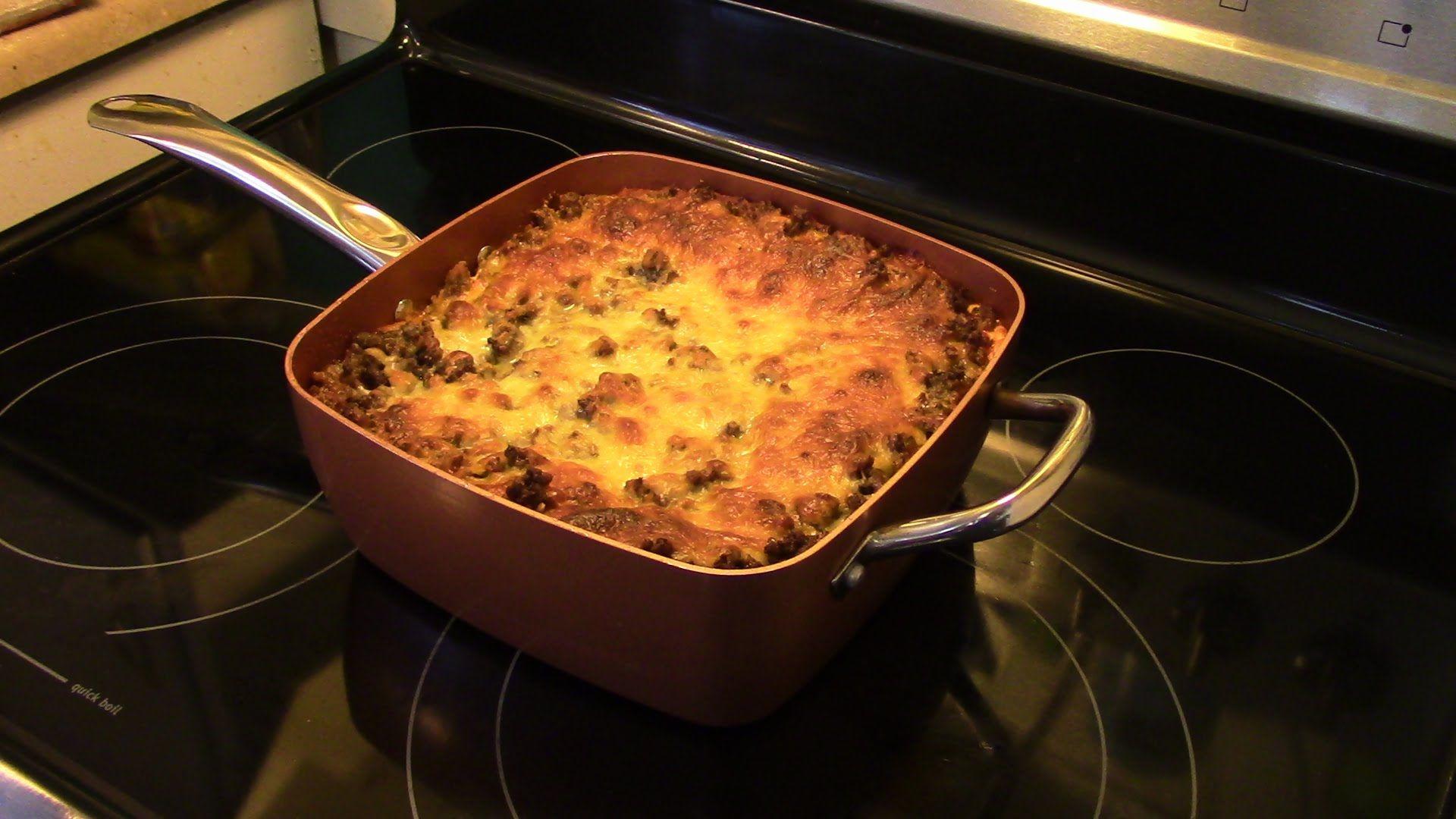 Lasagna In The Copper Chef Dinner Copper Chef Square