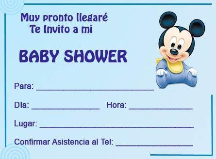 Invitaciónes para baby shower de niña para editar - Imagui ...