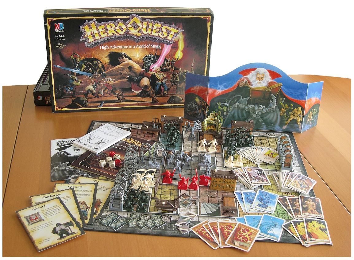 Hero Quest my sister and I used to play this with our