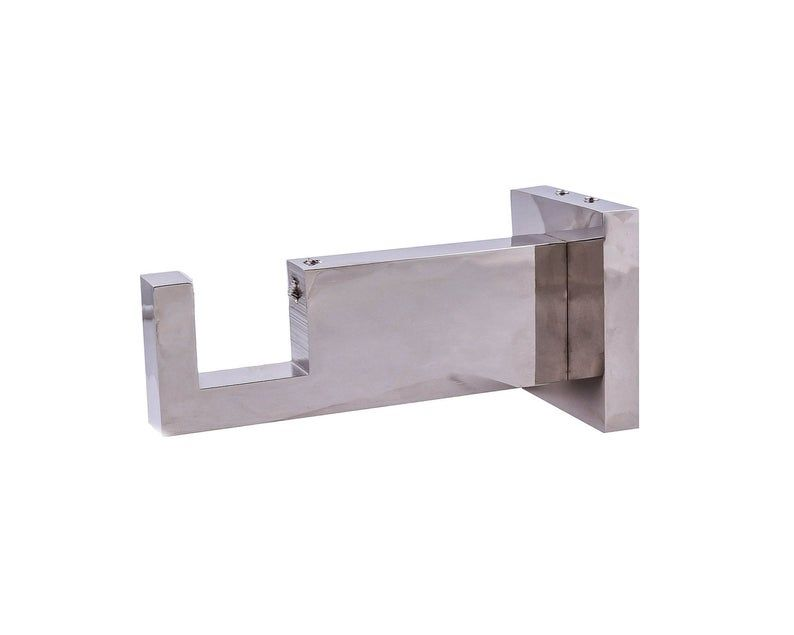 Rectangle Acrylic Metal Bracket For Rectangle Lucite Or Acrylic