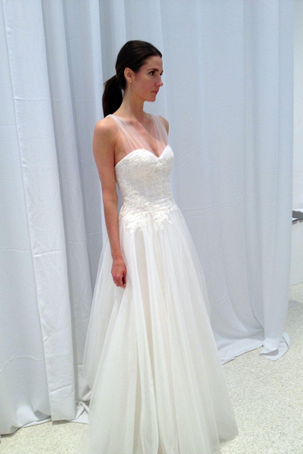 Wedding Dress/Gown - Amsale Bridal | Wedding Dresses | Pinterest | Boda