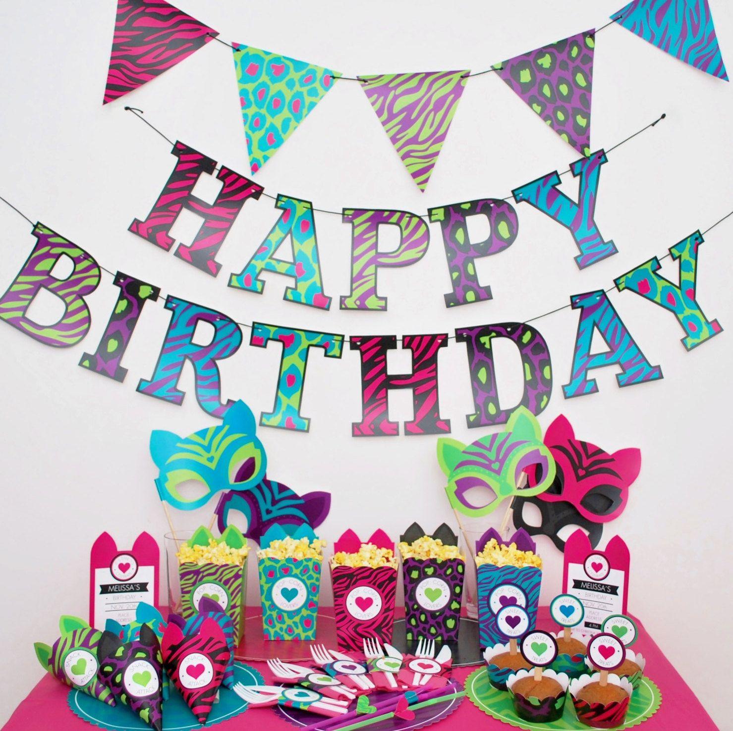 Ilis Aviles Birthday Animal Print Jpg Happy Birthday Messages