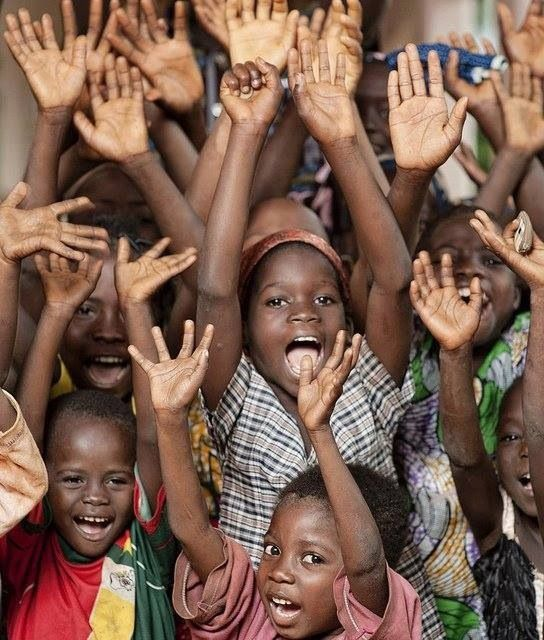 I want to go to Africa, hangout with the children, and teach them