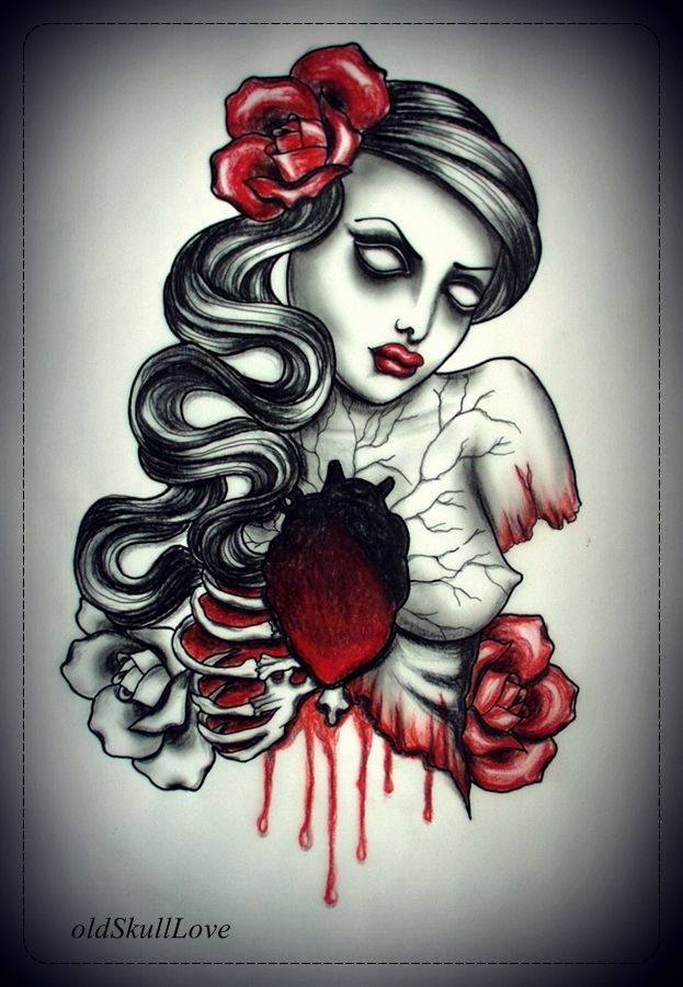 Traditional Sacred Heart Tattoo Designs   DEAD HEART ...
