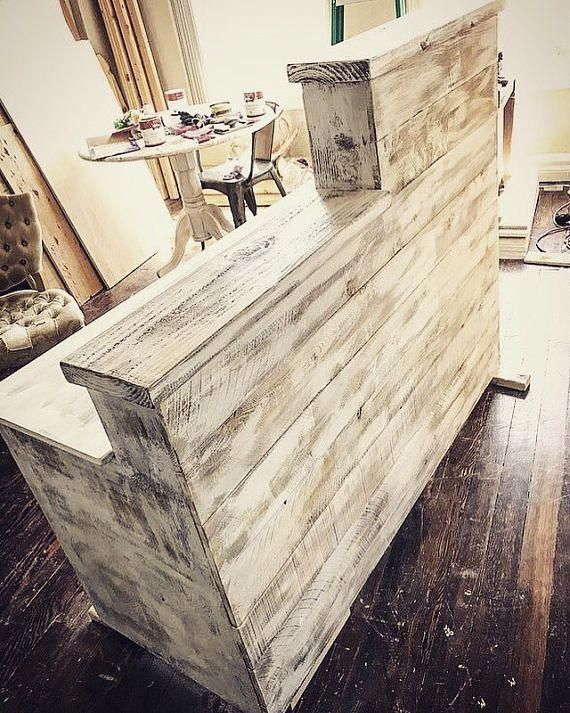 Cash wrap counter – Shabby chic – Made to order – Agatha