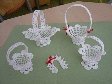 Hackovane Kosicky Crochet Basket Pattern Holiday Crochet Crochet Snowflake Pattern