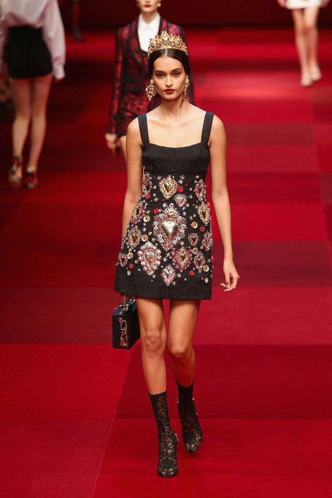 Dolce & Gabbana Spring 2015 Show   Milan Fashion Week