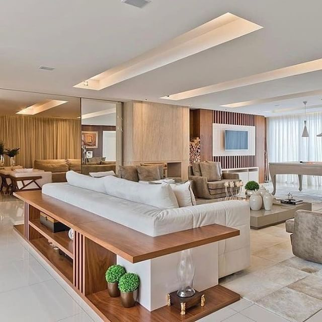 Tons Neutros + Madeira Para Dar Um Toque Aconchegante @_decor4home # Homedecor #design #interiordesign #arquitetura #architecture  #designforinspo ...