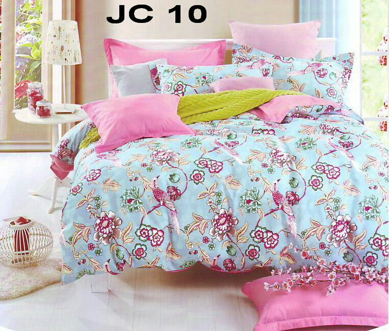 Sprei & bed cover bahan katun jepang made by order, info