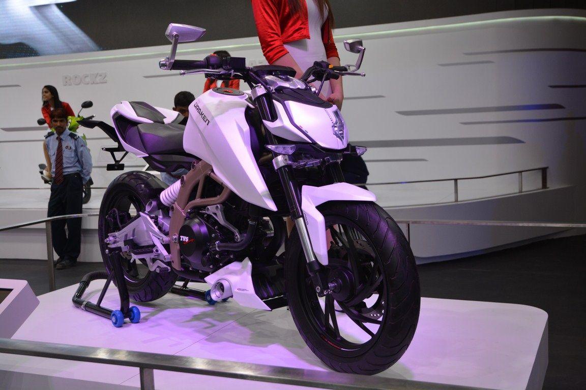 TVS Graphite concept, TVS Draken X21 concept unveiled