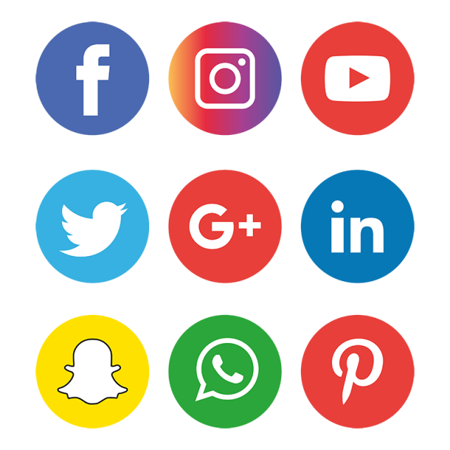 Social Media Icons Set Logo Social Icons Logo Icons Media Icons Png And Vector With Transparent Background For Free Download Social Media Icons Vector Social Media Icons Social Media Logos