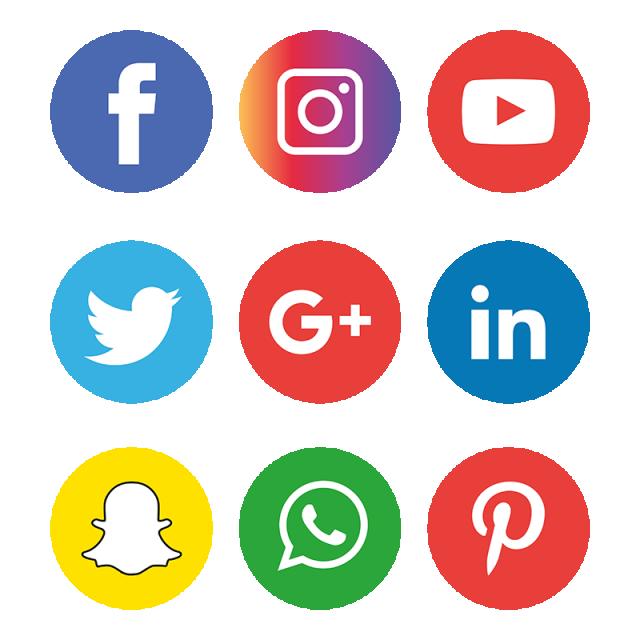 12+ Social media clipart png info
