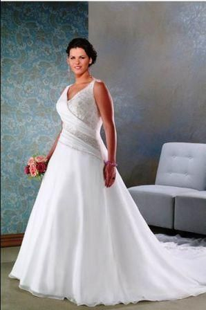 Plus Size Wedding Gowns Ruffle Wedding Dress Wedding Dress Chiffon Wedding Dresses