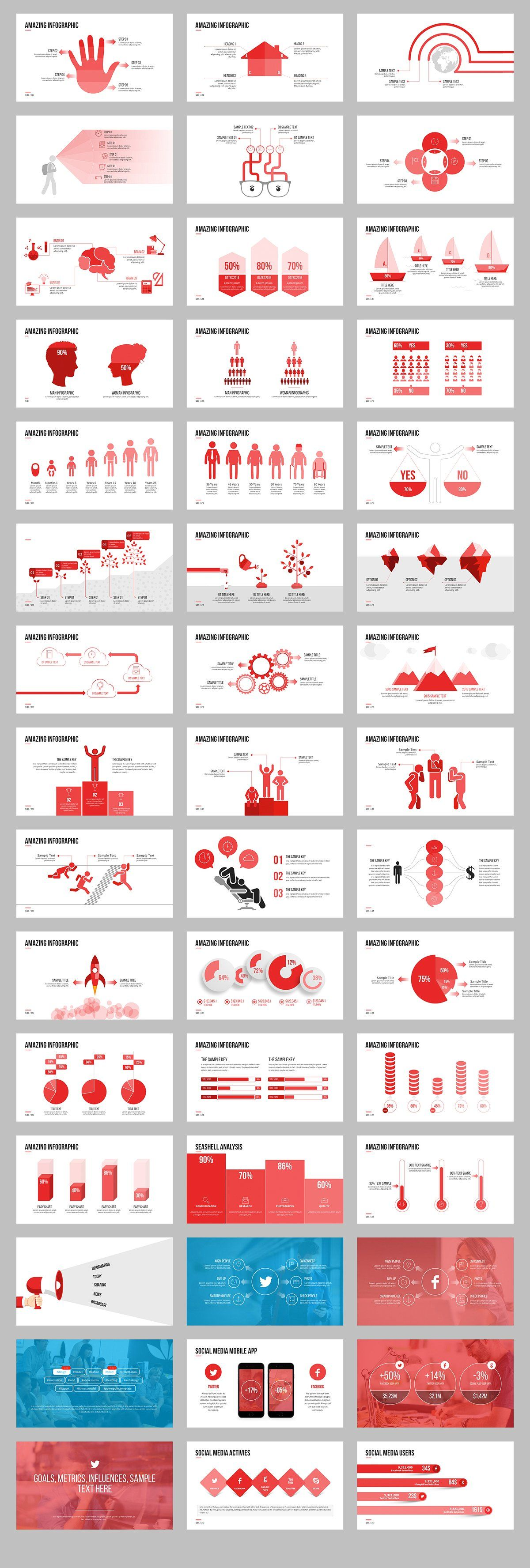 Mark04-Minimal Powerpoint Template - Presentations - 4 | infograma ...