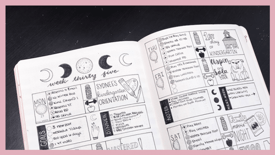 How to Align Your Goals According to the Moon Phases ⋆ The Petite Planner