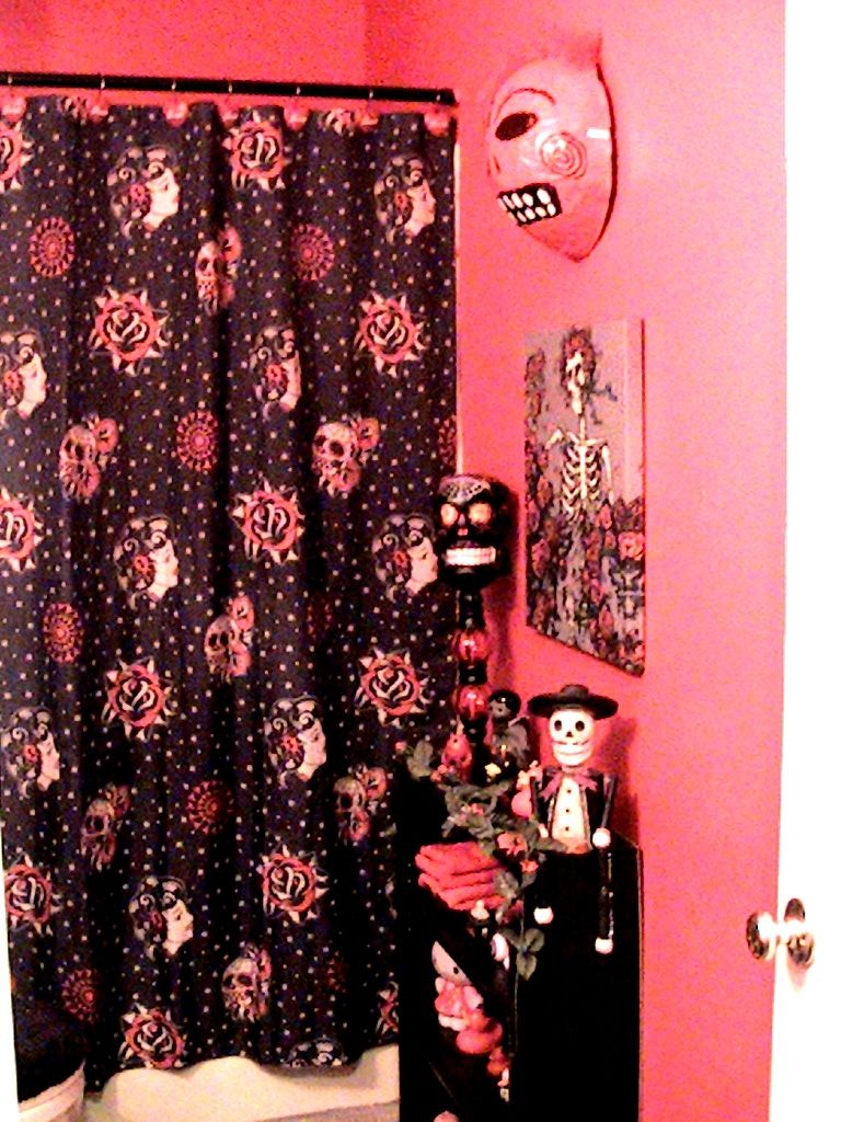 Day Of The Dead Bathroom With Images Bathroom Furniture Modern