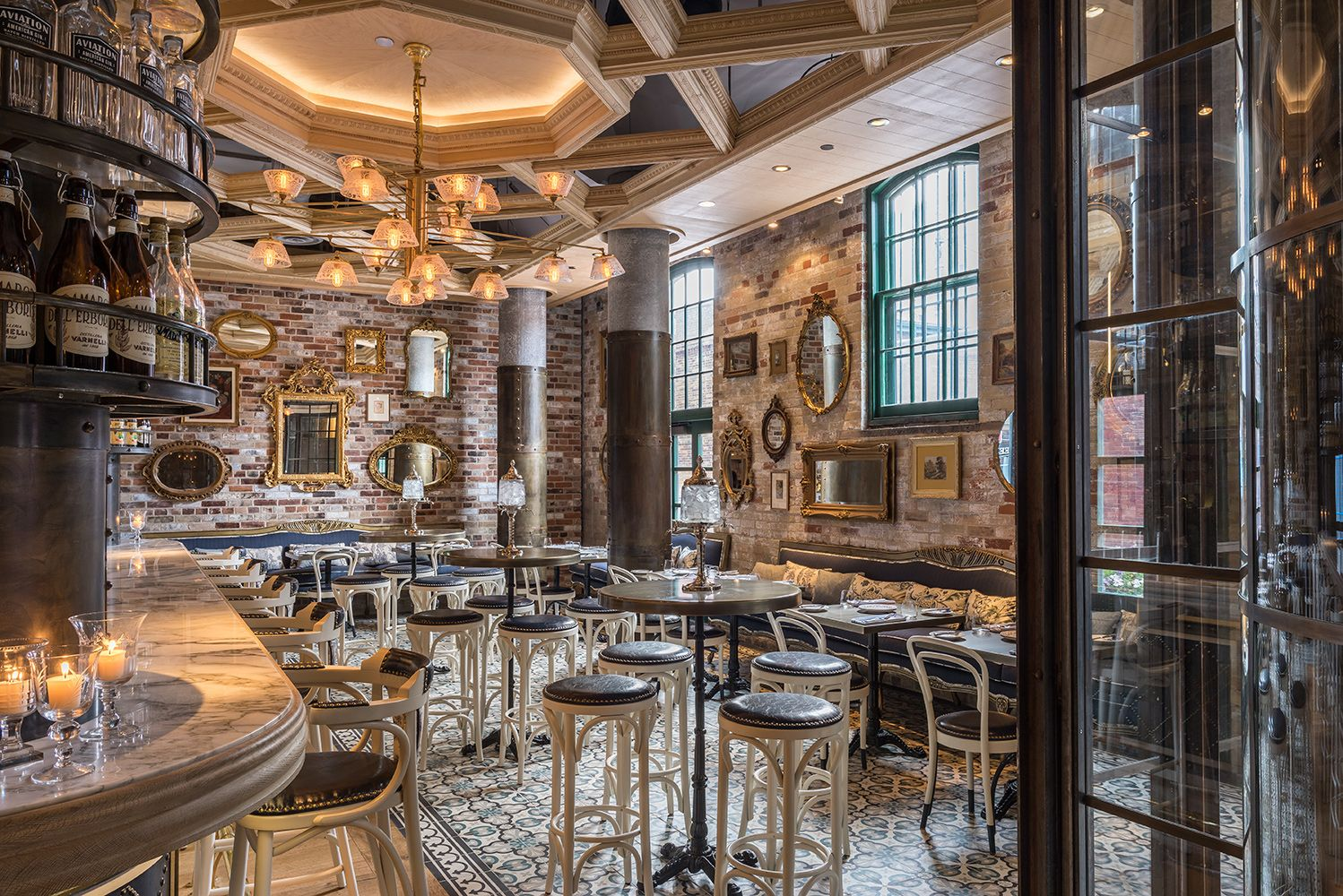 Restaurant Design Companies Toronto : Cluny bistro boulangerie the distillery district