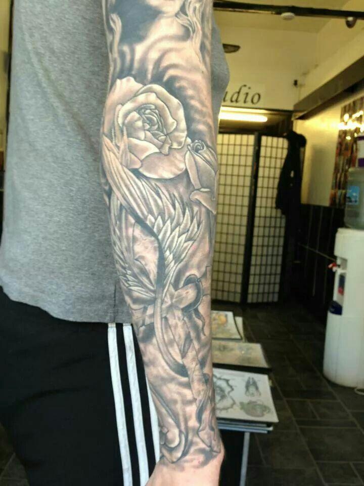 Black Grey Sleeve Tattoo Ideas: Pin On Tattoos