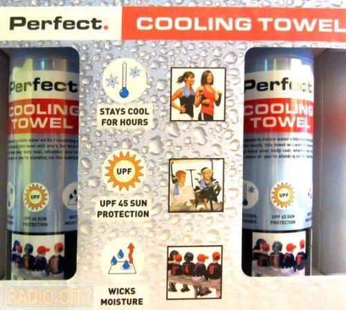 Perfect Cooling Towels Stays Cool Wicks Moisture Upf 45 Sun