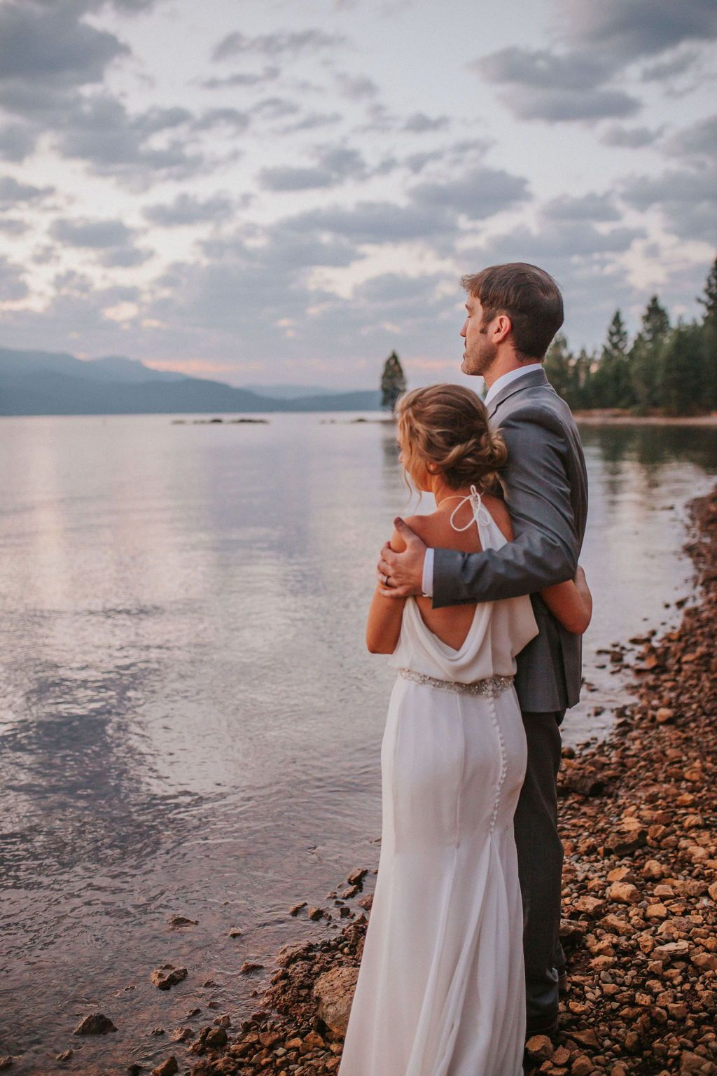 This summertime beach elopement was the thing of dreams