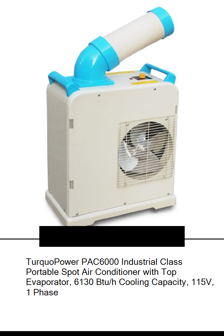 TurquoPower PAC6000 Industrial Class Portable Spot Air