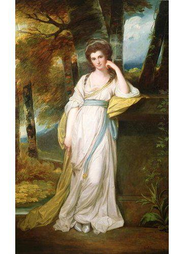 Photo of East Urban Home Kunstdruck Portrait of Mrs. Henry Maxwell von George Romney