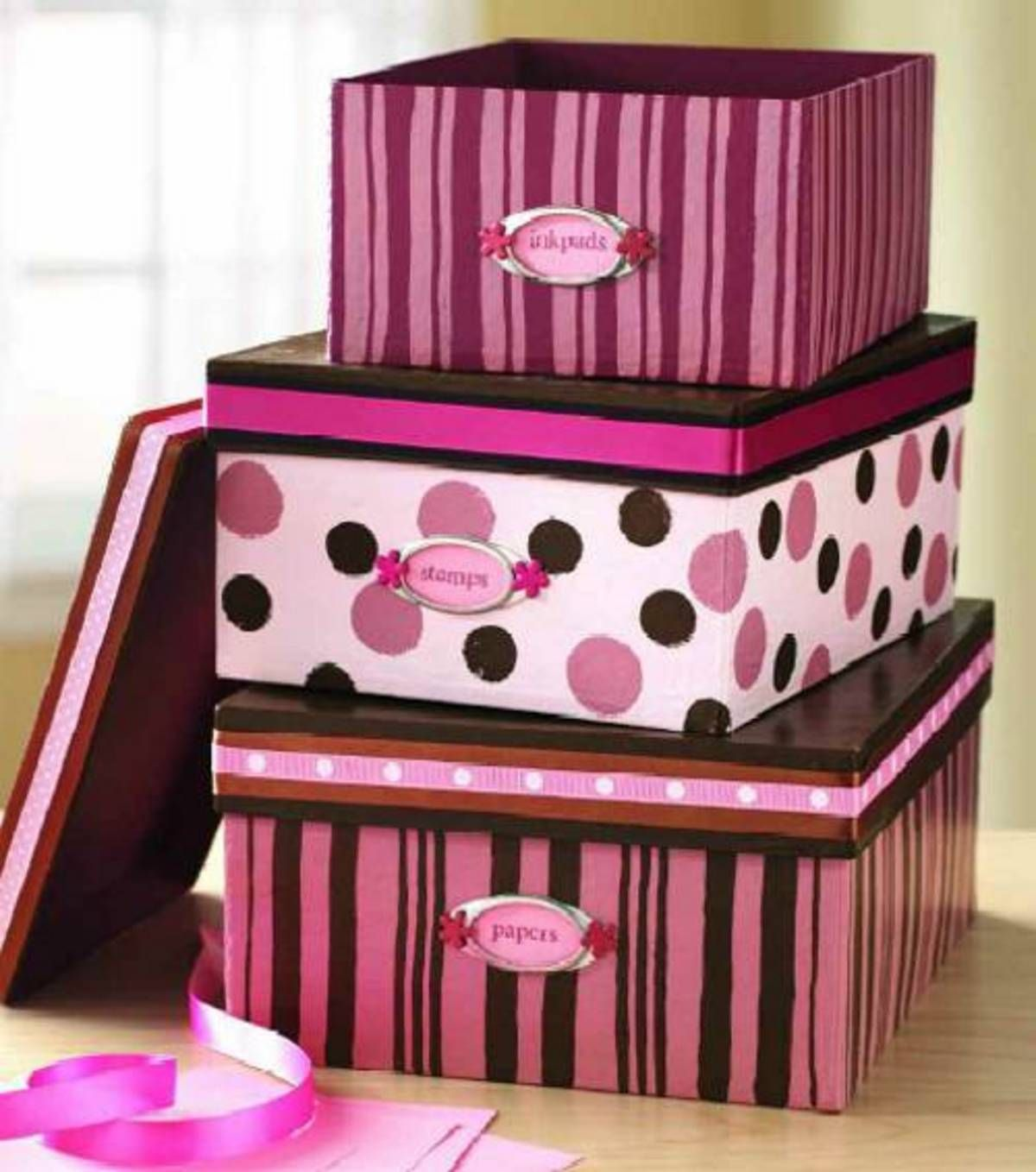 Decorative Boxes Storage Stylish & Stackable Storage Boxes At Joann  Craft Ideas